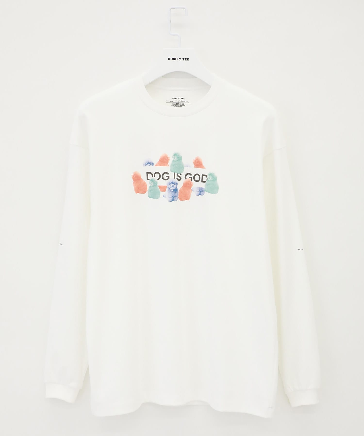 KOKORO Dog Is God L/S Tee